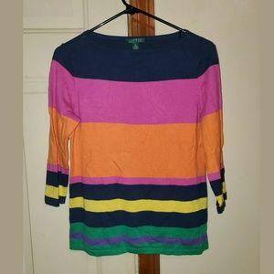 RL Color Block Sweater
